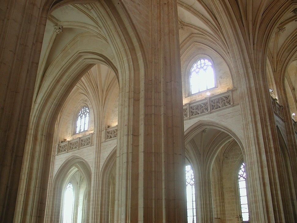Church brou pillars vaults