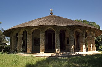 Dek Island - Church of Narga Selassie