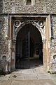Church of St Mary Hatfield Broad Oak Essex England - south porch portal.jpg