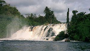 South Cameroon Plateau - Lobé Falls