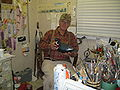 Cigar Daisey in his paint room 002.jpg