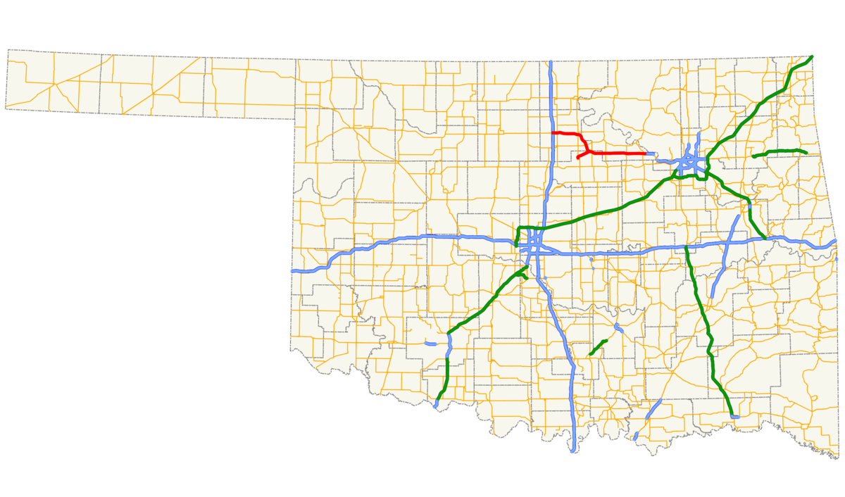 Cimarron turnpike wikipedia sciox Choice Image
