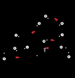 1989 Brazilian Grand Prix - Image: Circuit Jacarepagua