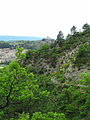 Citadelle de Sisteron et ancienne route Napoléon.JPG