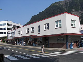 Juneau's City Hall building on a sunny day
