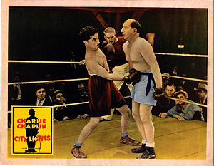 Hank Mann - Hank Mann as the boxer in Charlie Chaplin's City Lights (1931)
