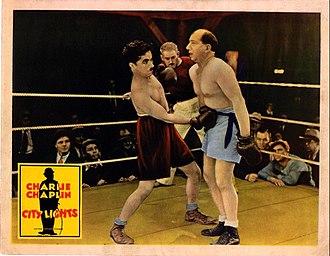 Hank Mann - Hank Mann as the boxer in Charlie Chaplin's City Lights (1931)