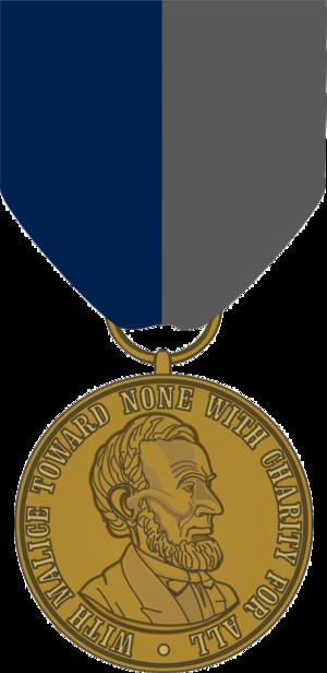 Civil War Campaign Medal - Image: Civil War Campaign Medal