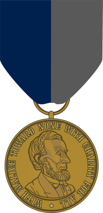 Civil War Campaign Medal - Image: Civil War Campaign Medal