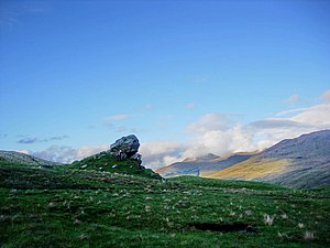 Kingdom of Strathclyde - Clach nam Breatann, Glen Falloch, perhaps the northern edge of Strathclyde