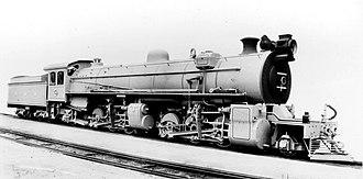 South African Class MH 2-6-6-2 - SAR Class MH no. 1661, c. 1915