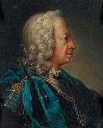 Clementi, follower of - Charles Emmanuel III in profile.jpg