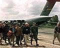 Clifton Bray takes US Congressman and Senators on a tour of the Rinas flight line during their tour in Albania.jpg
