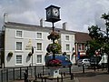 Clock and the Bell Hotel Driffield - geograph.org.uk - 501144.jpg