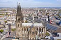 Closer view of the Cologne Cathedral, Germany (48986459043).jpg