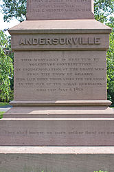 Closeup for Soldiers' Monument for American Civil War in Granby, Connecticut.jpg