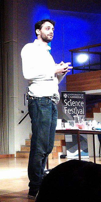 Steve Mould - Image: Cmglee Cambridge Science Festival 2015 Steve Mould