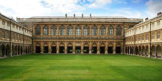Wren Library library in Trinity College, Cambridge, UK