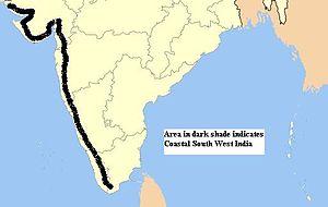 Coastal South West India - Coastal South West India