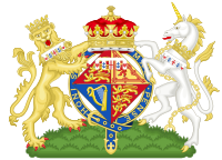 Coat of Arms of Alexandra, The Honourable Lady Ogilvy.svg