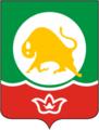 Coat of Arms of Naberezhnye Chelny (Tatarstan) (1993).png