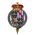 Coat of Arms of Oswald Phipps, 4th Marquess of Normanby, KG, CBE.png