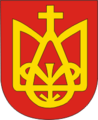 Coat of Arms of Zasłaŭje, Belarus.png