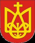150px-Coat_of_Arms_of_Zasłaŭje,_Belarus.png