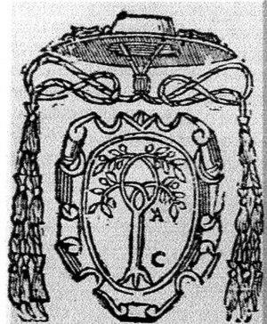 Leonardo Grosso della Rovere - Coat of arms of Cardinal Leonardo Grosso della Rovere