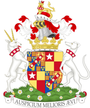 Duke of St Albans - Image: Coat of arms of the duke of Saint Albans