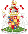Coat of arms of the duke of Saint Albans.png