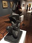 Cock Fighter (1966) by Yeo Hwee Bin, National Gallery Singapore - 20160101.jpg