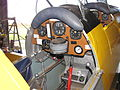 Cockpit of VH-DWD Bert Filippis Tiger Moth at Serpentine June 2011 (6806059964).jpg