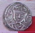 Coin minted for king Valdemar II of Denmark, Valdemar II Sejr.jpg