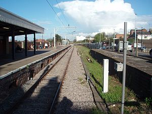Colchester Town railway station - Image: Colchester Town railway station in 2008
