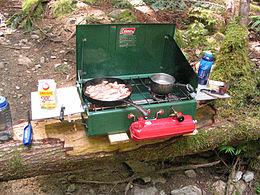 Portable stove - Wikipedia, the free encyclopedia
