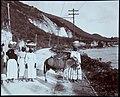 Collectie Nationaal Museum van Wereldculturen TM-60062254 Groepje vrouwen met een ezel op de Rockford Road Jamaica A. Duperly & Sons (Fotostudio).jpg