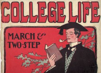 1905 in music - Image: College Life Cover 1905