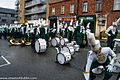 Colorado State University Marching Band, Colorado, USA - Getting Ready For The 2013 Patrick's Day Parade (8565850013).jpg