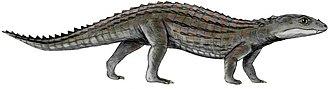 Crocodylomorpha - Image: Comahuesuchus BW white background