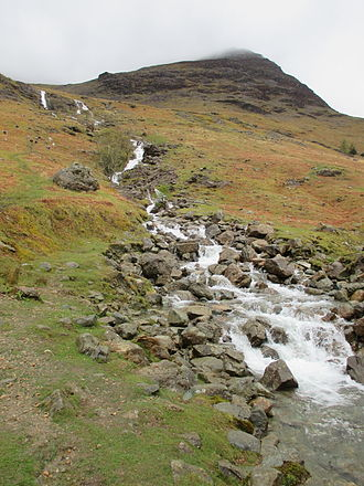 High Stile - Comb Beck, with High Stile above