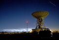 Comet Neowise, Noctilucent clouds, the International Space Station and deep space communications antenna at Goonhilly Earth Station, Cornwall, UK; July 2020.png
