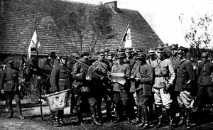 Polish-Soviet War Polish order of battle - Command of Polish Regiment during Polish–Soviet war