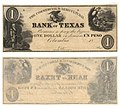 Commercial and Agricultural Bank of Texas $1.00 (one dollar) private scrip (8519862080).jpg