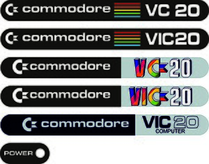 Commodore VIC-20 - Image: Commodore VC20 Logo