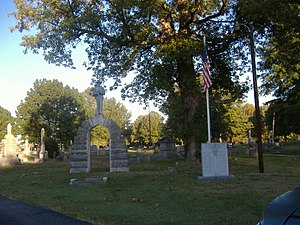 Confederate Memorial in Fulton - Image: Confederate Memorial in Fulton WWII