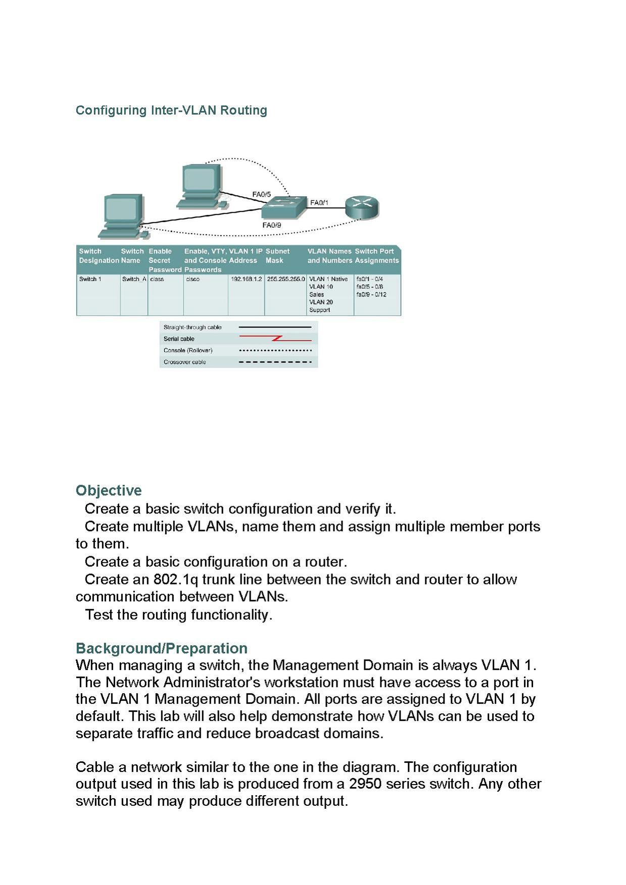 Fileconfigure Inter Vlan Routingpdf Wikimedia Commons Rollover Cable Diagram Console For