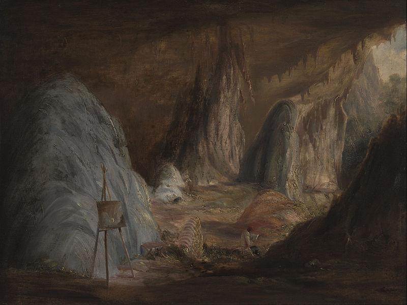 File:Conrad Martens - Stalagmites, Burragalong Cavern - Google Art Project.jpg