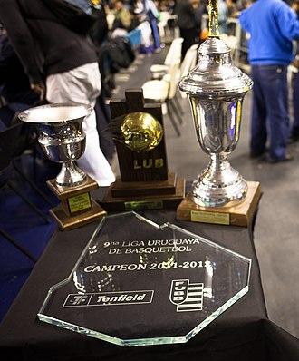 Liga Uruguaya de Basketball - Trophies of the Uruguayan Basketball League