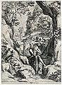 Cornelis Cort, da Girolomo Muziano, San Girolamo.jpg